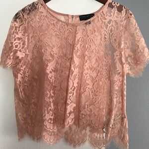 NWOT - Forever 21 Lace Blouse
